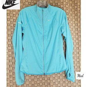 NWOT Nike Dri-Fit Tiffany Blue Running Jacket